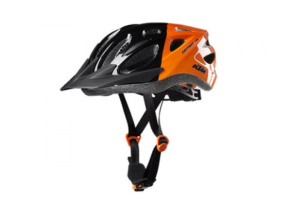 Dětská přilba KTM FACTORY Youth 2019 Black/orange