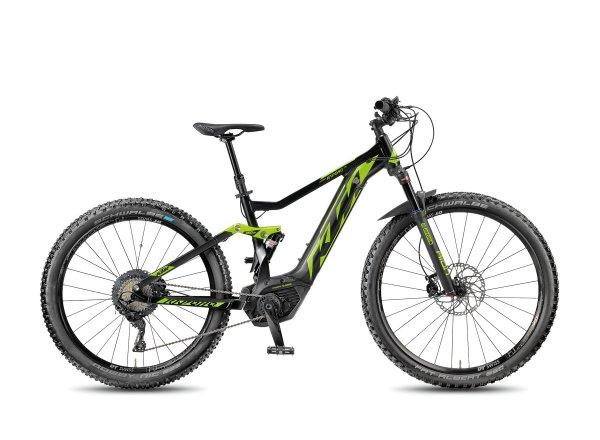 Elektrokolo KTM Macina Kapoho 273 11 PT-CX5I 2018 Black matt/toxicgreen