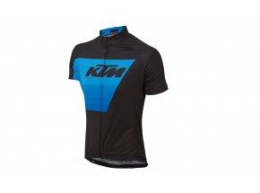 Cyklistický dres KTM Factory Line 2019 Black/blue