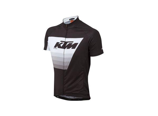 Cyklistický dres KTM Factory Line 2019 Black/whihe