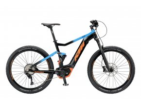 Elektrokolo KTM MACINA LYCAN 275 10 PT-CX5P4 2019 Black matt (azzuro+orange)
