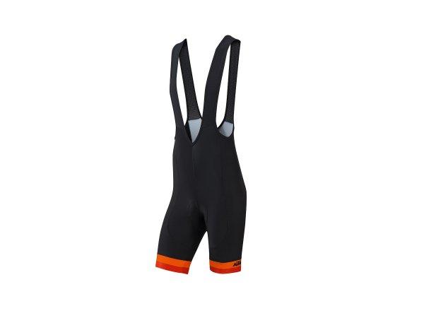 Cyklistické kraťasy KTM Factory Line 2019 Black/orange