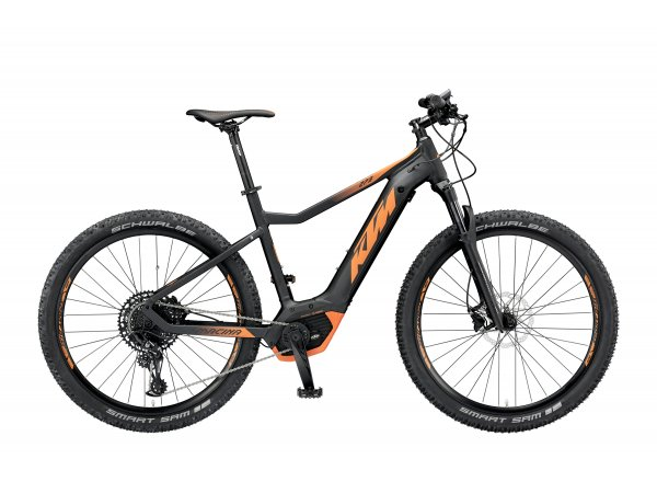 Elektrokolo KTM MACINA RACE 273 12 PT-CX5I4 2019 Black matt (orange)