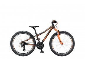 Dětské kolo KTM Wild Speed 24.24 V 2019 black matt (orange)
