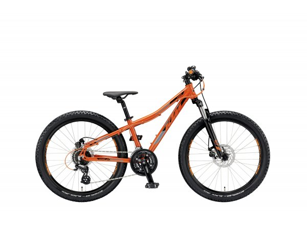 Dětské kolo KTM Wild SPEED 24.24 M DISC 2019 Orange (black)