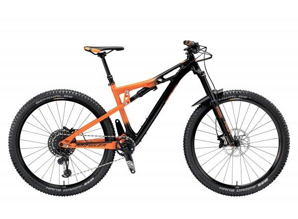 Horské kolo KTM PROWLER 29 292 12 2019 Black (orange)