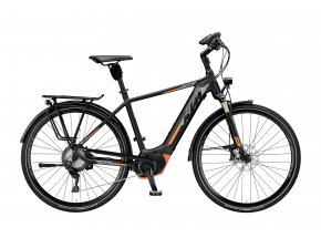 Elektrokolo KTM MACINA STYLE XT 11 CX5 2019 Black matt (grey+orange)