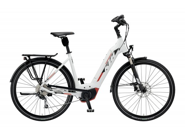 Elektrokolo KTM MACINA TOUR 9 CX5 US 2019 White matt (black+red)