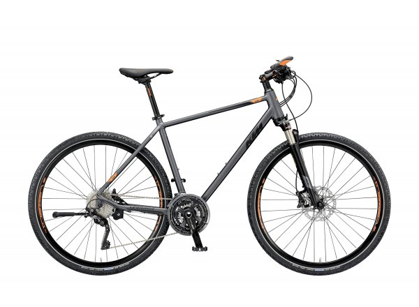 Krosové kolo KTM LEGARDA RACE 2019 Steelgrey matt (black+orange)