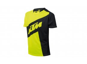 Cyklistický dres KTM Factory ENDURO Black/yellow