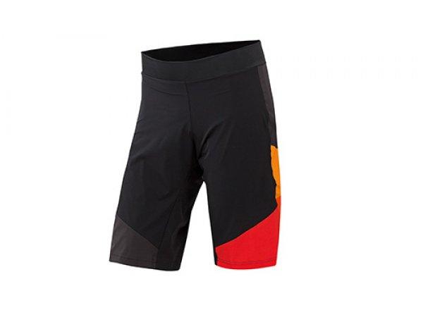 Cyklistické kraťasy KTM Factory Character 2019 včetně vnitřichních kalhot s vložkou Black/orange