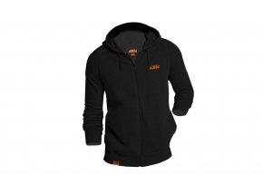 Mikina KTM Factory Team Work Black/orange