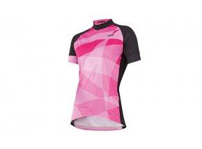 Dámský cyklistický dres KTM Lady Line Black/berry