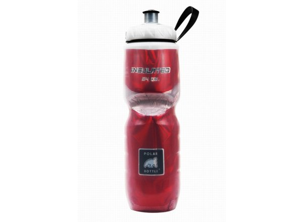 Cyklistická láhev POLAR BOTTLE Insulated 0,7l RED