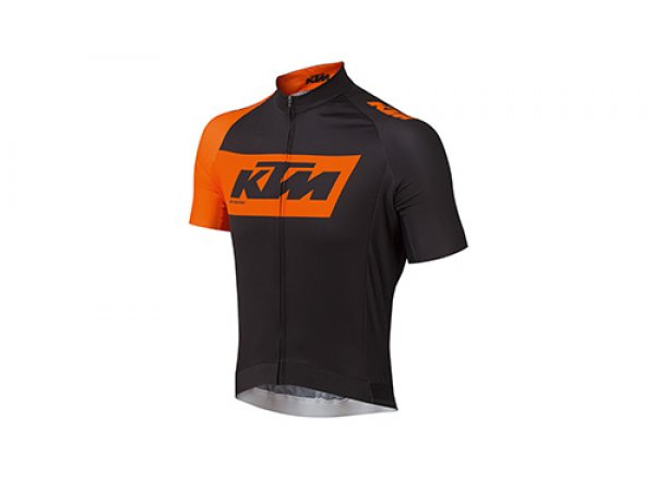 Cyklistický dres KTM Factory Team 2019 Black/orange