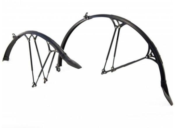Trekingové blatníky CYCRAGUARD Twin Pack Black