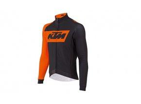 Cyklistický dres KTM Factory Team Race Black/orange