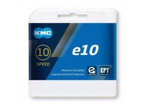 Řetěz pro elektrokola KMC e10 EPT pro e-Bike 10 speed Silver