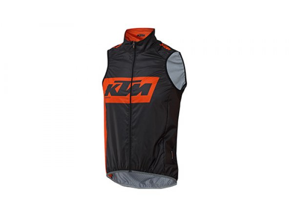 Cyklistická vesta KTM Factory Team Black