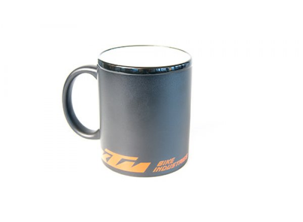 Porcelánový hrnek KTM Cup Matt black/orange