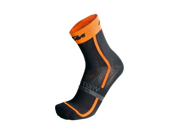 Ponožky KTM Factory Team 2021 Black/orange
