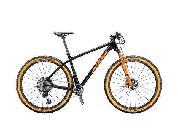 Horské KTM MYROON SONIC 29 2020 carbon (space orange)