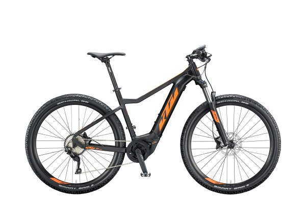 Elektrokolo KTM MACINA RACE 291 500Wh 2020 black matt (orange)