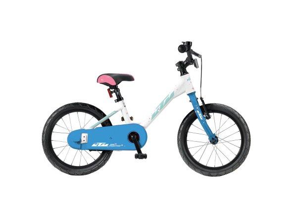 Dětské kolo KTM Kid 16.1 2020 white (iceblue)