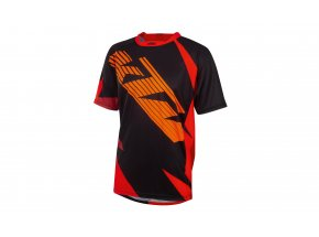 Cyklistický dres KTM Factory ENDURO 2020 Black/orange/red