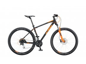 Horské kolo KTM CHICAGO DISC 29 2020 black matt (orange)