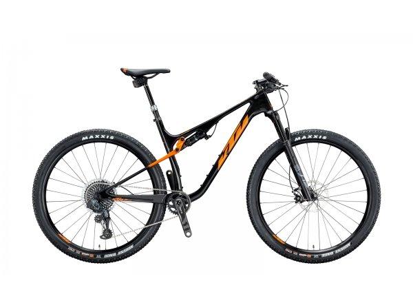 Celoodpružené kolo KTM SCARP MT PRESTIGE 1x12 AXS 29 2020 carbon (space orange)
