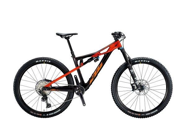 Dámské horské kolo KTM PROWLER GLORY 29 2020 deepurple (mandarin)