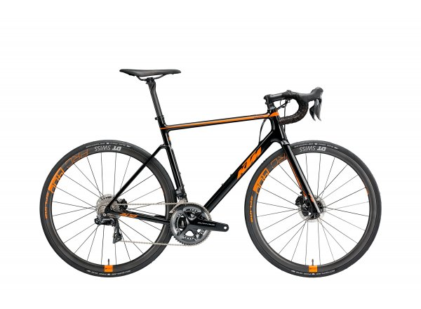 Silniční kolo KTM Revelator Alto Sonic 2019 black (orange)