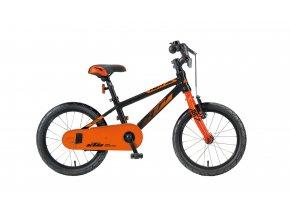 Dětské kolo KTM Kid 16.1 2020 black (orange)