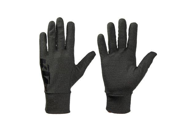 Vnitřní cyklistické rukavice KTM Factory Team Undergloves Merino 2021 Black