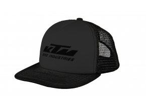 Kšiltovka KTM Factory Team Mesh cap 2021 Black/black