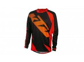 Cyklistický dres KTM Factory ENDURO Long 2020 Black/orange/red
