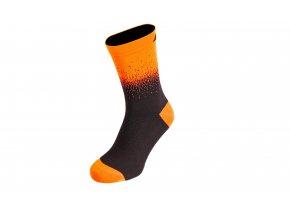 Ponožky KTM Factory Team Flow Black/orange