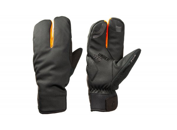 Cyklistické rukavice KTM Team Mitten Winter Black