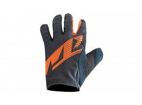 Cyklistické rukavice KTM FACTORY ENDURO Black/oranžová