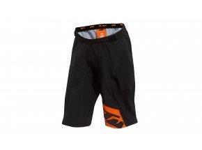 Dětské cyklistické kraťasy KTM Factory Youth 2021 black (orange)