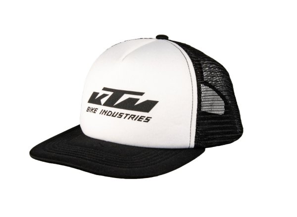 Kšiltovka KTM Factory Team Mesh cap 2021 Black/white