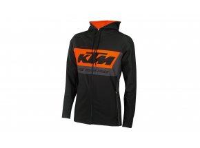 Mikina KTM FACTORY TEAM CROSSOVER 2021 Black/orange