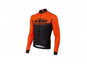 Cyklistický dres KTM Factory Team Spring 2021 Black/orange