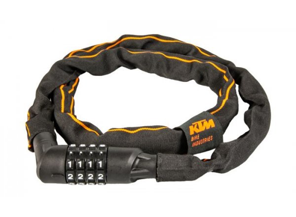 Zámek KTM Chain Lock Code 2021 Black/orange