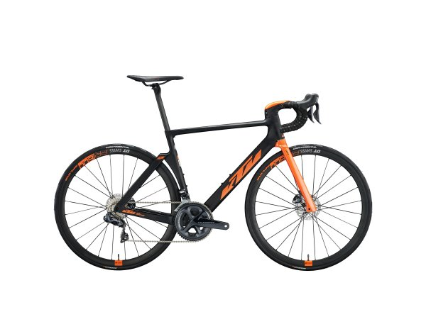 Silniční kolo KTM REVELATOR LISSE MASTER 22 2020 carbon matt ( space orange glossy)