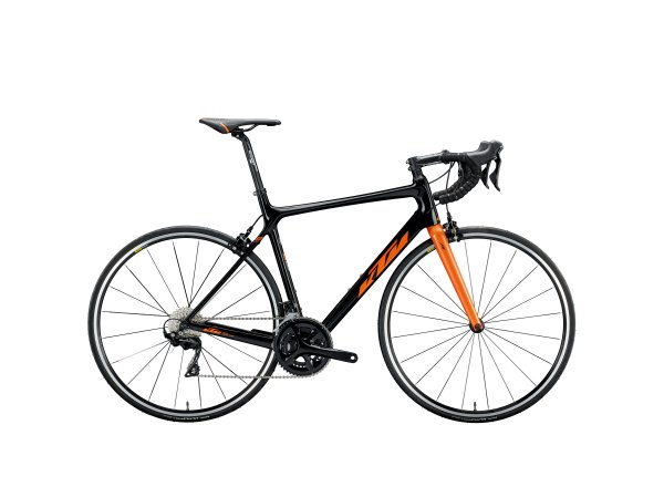 Silniční kolo KTM REVELATOR 4000 22 2020 black metallic (space orange)