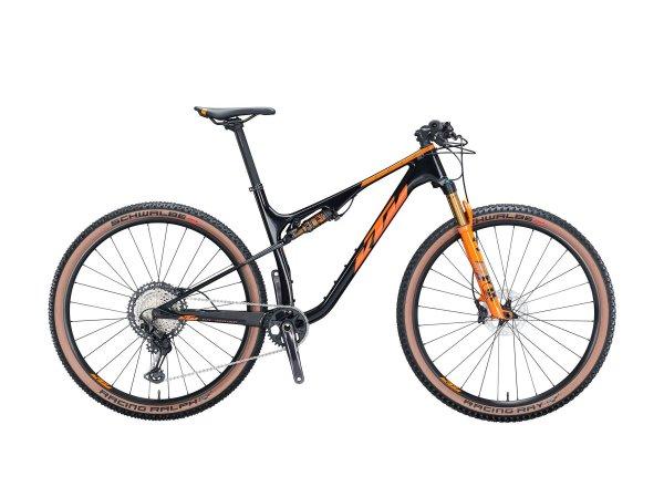 Celoodpružené kolo KTM SCARP MASTER 29 2021 metallic black (orange+grey)