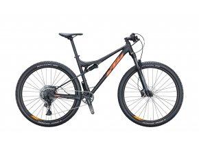 Celoodpružené kolo KTM SCARP 294 29 2021 black matt (orange)
