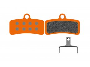 Destičky KTM Organic Performance Shimano & Tektro 4 Piston (1 pár) Orange